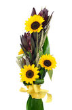 Bouquet of sunflowers Royalty Free Stock Images
