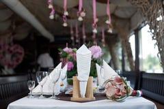 Bouquet sur la table Photographie stock libre de droits