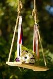 Bouquet sur une oscillation Image libre de droits