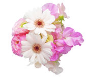 Bouquet of sweetpea ,persian buttercup and transvaal Stock Photography