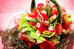 Bouquet of sweets Royalty Free Stock Image