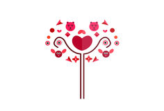 Bouquet symbol. Bouquet vector cute symbol illustration Vector Illustration