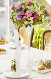 Bouquet on the table Royalty Free Stock Image