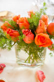 Bouquet on the table Royalty Free Stock Photos