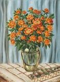 Bouquet of Trollius Stock Images