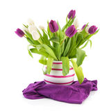 Bouquet tulips Royalty Free Stock Photography