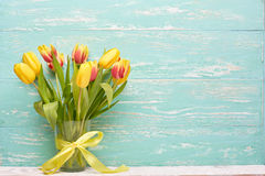 Bouquet of tulips. Stock Photo