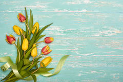 Bouquet of tulips. Stock Photography