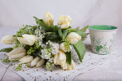 Bouquet of tulips Stock Photography