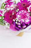 Bouquet of various spring flowers Royalty Free Stock Images