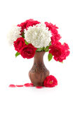 Bouquet in a vase Stock Image