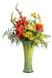 Bouquet in Vase Royalty Free Stock Photos