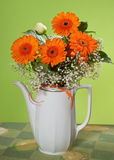 Bouquet in vase Stock Image