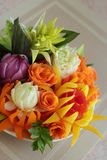 Bouquet from vegetables Royalty Free Stock Image