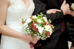 Bouquet at Wedding Ceremony Stock Photography