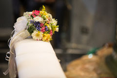 Bouquet in a Wedding Day Stock Photo