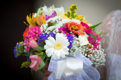 Bouquet in a Wedding Day Royalty Free Stock Photos