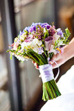 Bouquet of wedding flowers Royalty Free Stock Photos