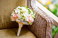 Bouquet of wedding flowers Stock Images