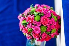 Bouquet of wedding flowers Stock Image