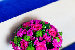 Bouquet of wedding flowers Royalty Free Stock Photo