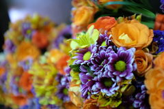 Bouquet. Wedding bouquet is the most beautiful flower arragement because it symbolize love and relationship Stock Photography