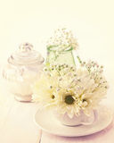 Bouquet of white chrysanthemums Royalty Free Stock Photos
