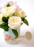 Bouquet of white roses Royalty Free Stock Photo