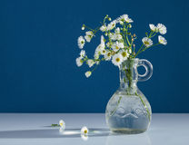 Bouquet of wild flowers in vase Stock Photography