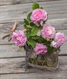 Bouquet of wild rose Stock Photos