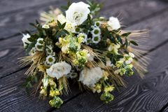 Bouquet, wildflowers, bridal bouquet stock photography