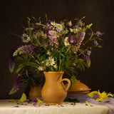 Bouquet of wildflowers Royalty Free Stock Image