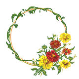 Bouquet wreath Royalty Free Stock Photos