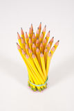 Bouquet of Yellow, Number 2, Pencils Stock Photo