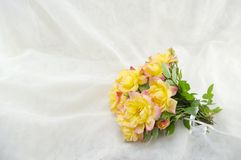 Bouquet of yellow roses Stock Photo