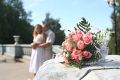 bouquete婚礼 库存照片