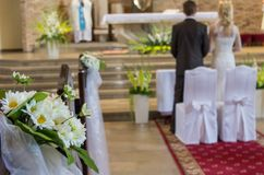 Bouquete de mariage Images libres de droits