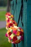 Bouquets accrochants photographie stock