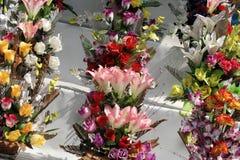 Bouquets de fleur dans le fleuriste Photographie stock libre de droits