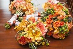 Bouquets de mariage Image stock