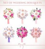 Bouquets de mariage Image libre de droits