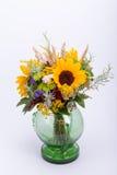 bouquets des fleurs et des herbes Photos libres de droits