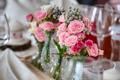 Bouquets des roses Photo libre de droits