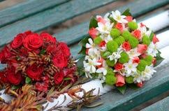 Bouquets floraux Image libre de droits