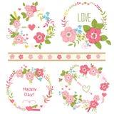 Bouquets floraux Photographie stock