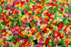 Bouquets of flowers Royalty Free Stock Photos