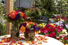 Bouquets heureux photographie stock