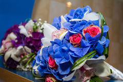 Bouquets nuptiales Images stock