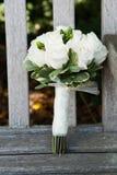 Bouquets nuptiales Image libre de droits