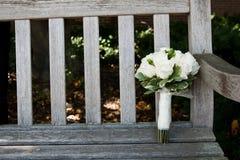 Bouquets nuptiales Photographie stock libre de droits
